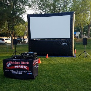 Outdoor Movie Magic - Outdoor Movie Screens / Halloween Party Entertainment in Queen Creek, Arizona