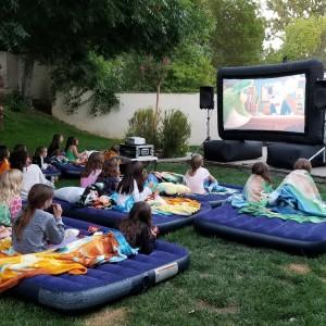 Outdoor Movie Rentals Complete Service
