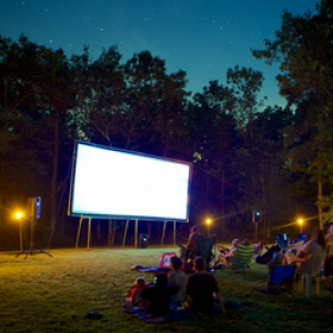 Outdoor Movie Ninja of CT, NY, Long Island & NJ - Outdoor Movie Screens / Halloween Party Entertainment in Stamford, Connecticut