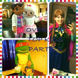 Over The Top Kids Parties, LLC - Costumed Character / Princess Party in Middletown, Connecticut