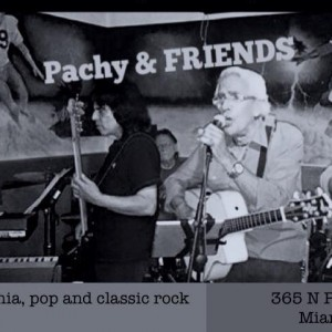 Pachy and Friends - Classic Rock Band in Miami, Florida