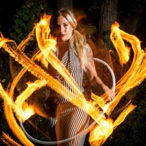 PaigeFireFlow - Fire Dancer in Boulder, Colorado