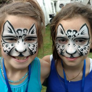 Painted Faces by Emily Schmidt - Face Painter / Outdoor Party Entertainment in Jackson, Mississippi