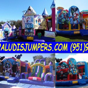 Paludis jumpers & party rentals