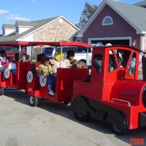 Panther Express Party Train & Carousel New Orleans - Party Rentals in New Orleans, Louisiana
