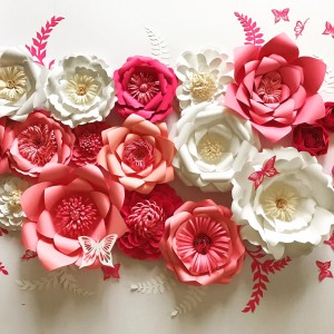 Paper Flower Backdrops by Rituska Inc - Backdrops & Drapery / Party Decor in Rockville, Maryland