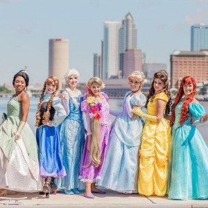 Parties With Character - Princess Party in Tampa, Florida