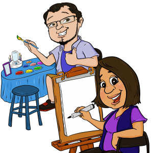 Party Doodle - Caricaturist in Chicago, Illinois