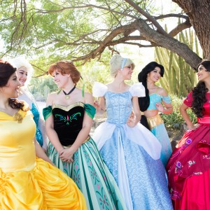 Fair Maidens & Masks - Costumed Character / Princess Party in Phoenix, Arizona