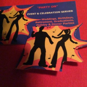 """Party On"" Event & Celebration Server"