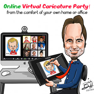 Party Cartoons Caricatures - Caricaturist in Westport, Connecticut