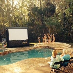Partyflix - Outdoor Movie Screens / Outdoor Party Entertainment in North Miami, Florida