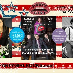 PartyGirl - Cover Band / Top 40 Band in Providence, Rhode Island