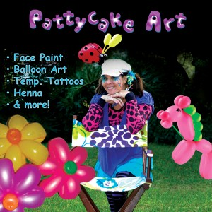 Face Painting by Pattycake Art - Face Painter / Balloon Twister in Palm City, Florida