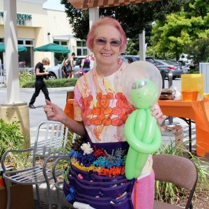 Paula Moors - Balloon Twister in Petaluma, California
