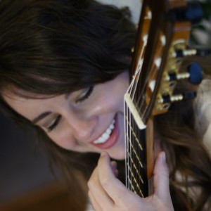 Christina Darding, Classical Guitarist