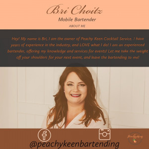 Peachy Keen Cocktail Service - Bartender / Wedding Services in Moline, Illinois