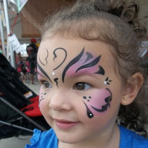 PeaPod Face Painting