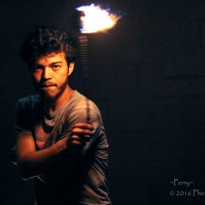 Perry Petaccia - Fire Performer in Tacoma, Washington