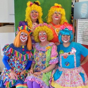 Petals the Clown and Friends