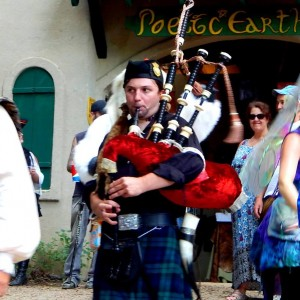 Peter Regan the Bagpiper
