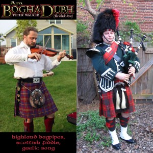 Peter Walker - Am Bogha Dubh (The Black Bow) - Bagpiper / Fiddler in Alexandria, Virginia