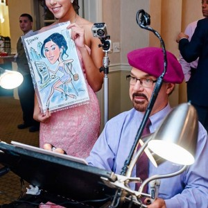 Philip's Personalitee Portraits - Caricaturist / Wedding Favors Company in Mahwah, New Jersey