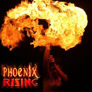 Phoenix Rising - Fire Dancer in Muskegon, Michigan