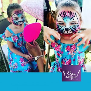 Pilar the Painter - Face Painter in Oklahoma City, Oklahoma