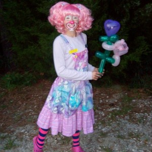 Pink Peppermint the Clown - Balloon Twister / Family Entertainment in Rocky Point, North Carolina
