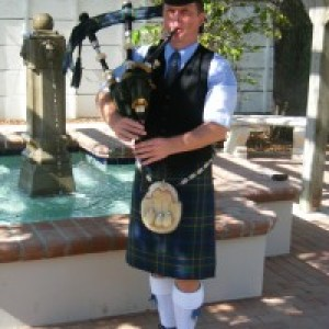 Pipe Major Graeme Massie - Bagpiper / Celtic Music in Fort Lauderdale, Florida