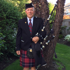 Piper Barney - Bagpiper in Victoria, British Columbia