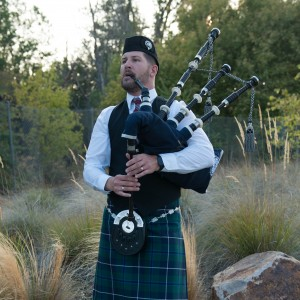 Piper Jonas - Bagpiper in San Jose, California