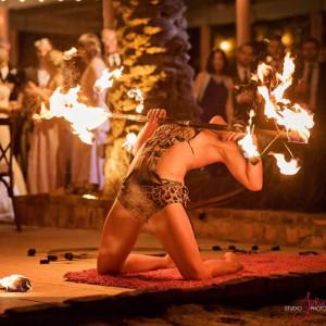 Pirata Louca - Fire Performer in Key West, Florida
