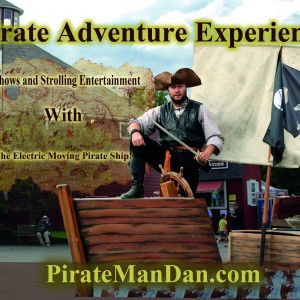 Pirate Adventure Experience - Pirate Entertainment / Fire Performer in Miami, Florida