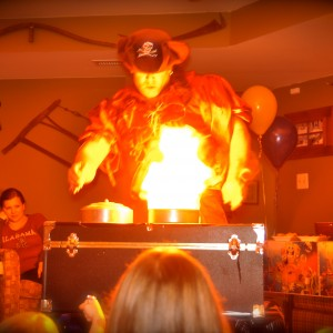 Pirate Magic aka Cpt Silly Bones! - Children's Party Magician / Halloween Party Entertainment in Germantown, Maryland