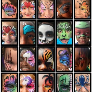 Pixie Chickz Face and Body Art - Face Painter / College Entertainment in Sebastian, Florida