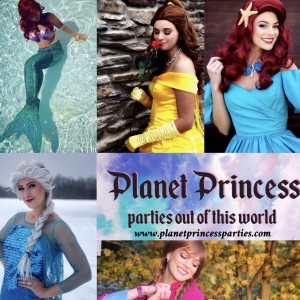 Planet Princess Parties - Princess Party in Grand Rapids, Michigan