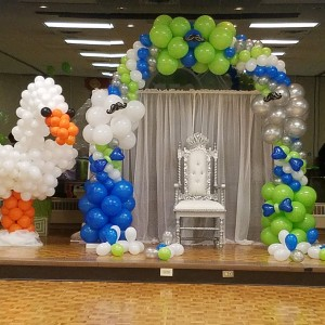 Platinum party designs - Balloon Decor in Queens, New York