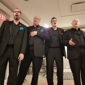 Playback Barbershop Quartet - Barbershop Quartet / A Cappella Group in Toronto, Ontario