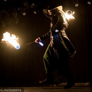 Pockets The Wizard - Fire Dancer in Portland, Oregon