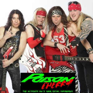 Poison Cherry - 1980s Era Entertainment in Dallas, Texas
