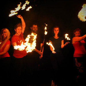 Polar Flame - Fire Dancer in Watertown, New York