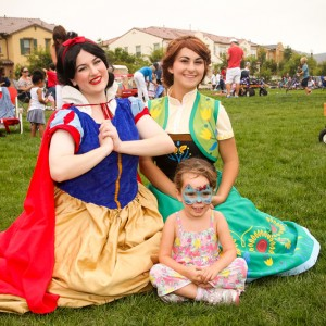 Pop-Up Event Entertainers - Princess Party in Poway, California