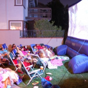 Pop Up Picture Show - Outdoor Movie Screens / Halloween Party Entertainment in Tustin, California