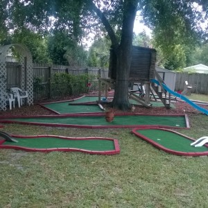 Portable Mini Golf - Party Rentals / Mobile Game Activities in Orlando, Florida