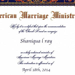 Precious moments by Shaniqua - Wedding Officiant in Baltimore, Maryland