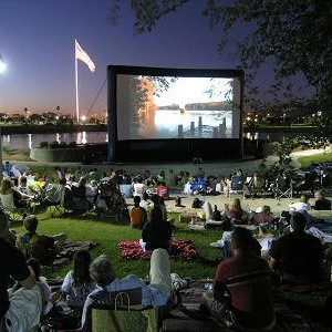 Premiere Mobile Cinema - Inflatable Screen Rentals - Outdoor Movie Screens / Outdoor Party Entertainment in Cincinnati, Ohio
