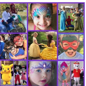 Pretty as a Princess Party - Face Painter in Columbus, Ohio