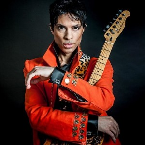 Mark Anthony as Prince - Prince Tribute in New York City, New York